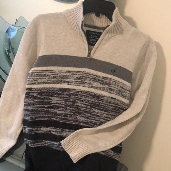 Calvin Klein boys cotton sweater.